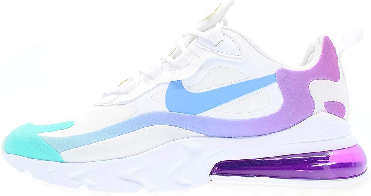 Zapatillas Deportivas de Mujer NIKE Air MAX 270 React en Tela Blanca  AT6174-102