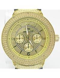 Super Techno Mens 0.10 ctw Diamond Watch M6258