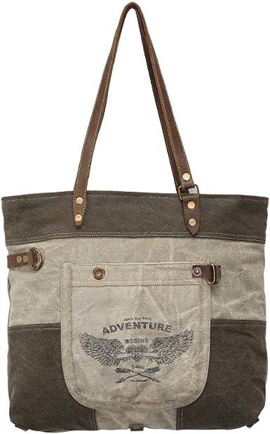 Amazon Com Myra Bags Adventure Begins Upcycled Canvas Denim Tote Bag S 0897 Clothing Poshmark makes shopping fun, affordable & easy! myra bags adventure begins upcycled canvas denim tote bag s 0897