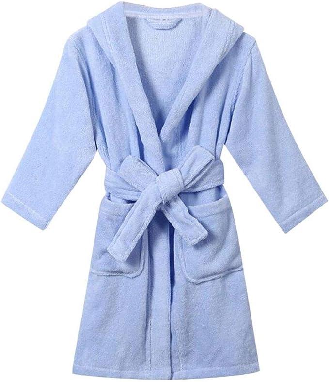 4 Colores Ropa de Dormir para niños Batas de baño con Capucha ...