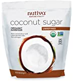 Nutiva Organic Coconut Sugar, Unrefined, 4 Pound