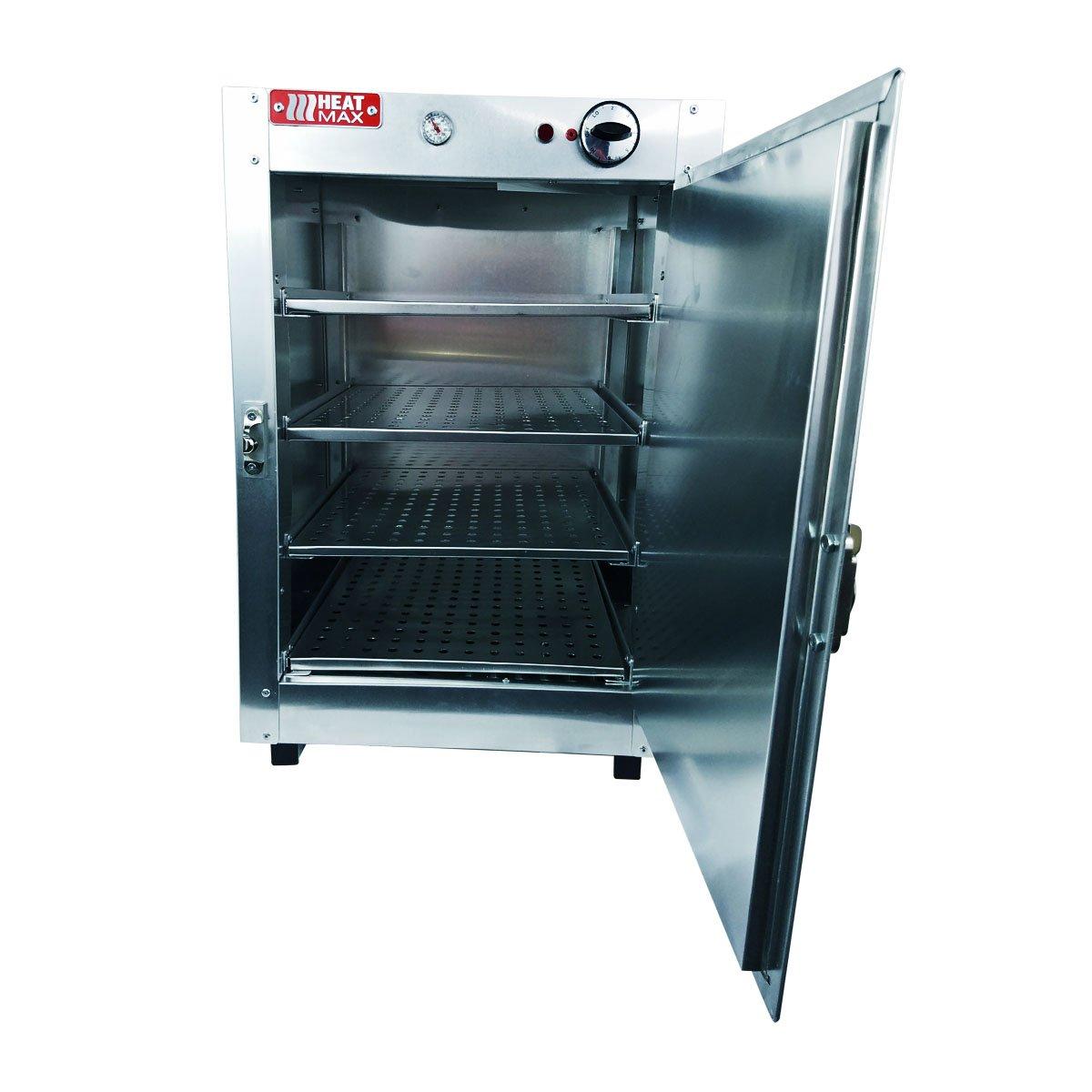 Amazon.com: HeatMax Commercial Food Pastry Warming Case Aluminum 16x16x24 Hot  Box Cabinet: Appliances