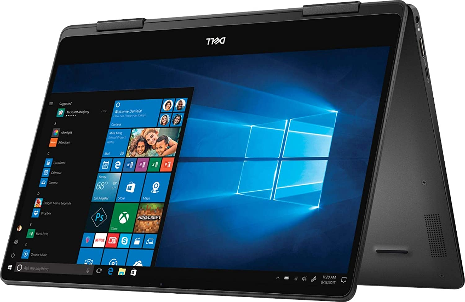 Dell Inspiron 13 7000 2 in 1 Convertible Laptop, 13.3