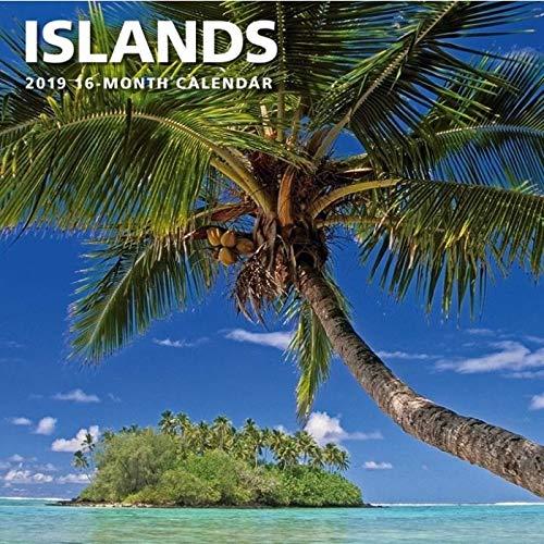 2019 Islands Wall Calendar, by Calendar Ink