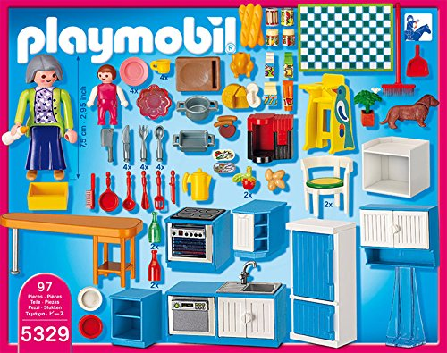 5329 cuisine de playmobil. Black Bedroom Furniture Sets. Home Design Ideas