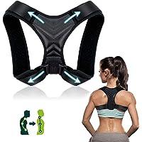 Corrector de Postura, Corrector de Postura Espalda y Hombro para Hombre y Mujer Transpirable, Talla Asjustable Faja…