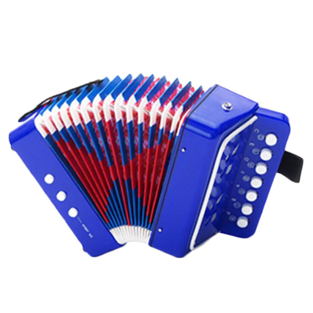 George Jimmy Great Musical Instrument Mini Accordion Education Kids Toy Player Kids Gift -A4