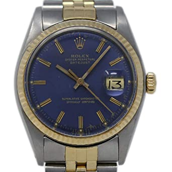 7b90f9746bb1d Rolex Datejust Swiss-Automatic Male Watch 1603 (Certified Pre-Owned)