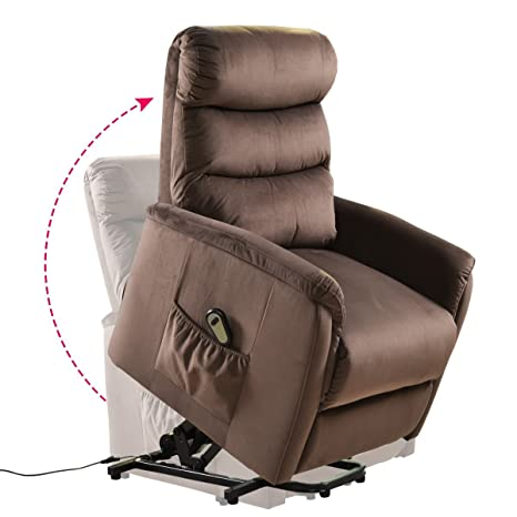 Fine Giantex Power Lift Chair Recliner For Elderly Soft And Warm Fabric With Remote Control For Gentle Motor Living Room Furniture Chocolate Ibusinesslaw Wood Chair Design Ideas Ibusinesslaworg