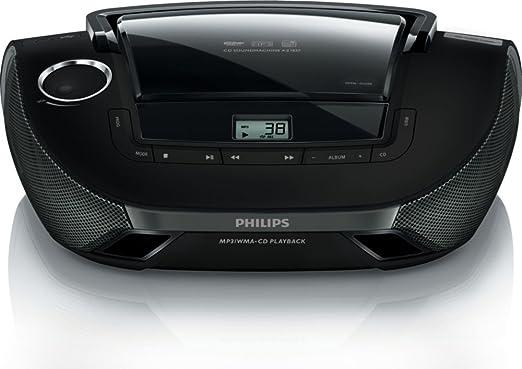 amazon com philips az1837 55 cd player boombox sound machine am fm rh amazon com CD Player with Pen Portable CD Players Walmart