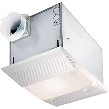 Nutone 9965 Bathroom Ceiling Heater, 1500W Heater W/Light, Nightlight, U0026amp;