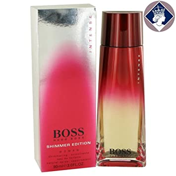 Boss Intense Shimmer By Hugo Boss Eau De Toilette Spray 90ml Amazon