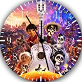 Disney Coco Movie Frameless Borderless Wall Clock F55 Nice For Gift or Room Wall Decor