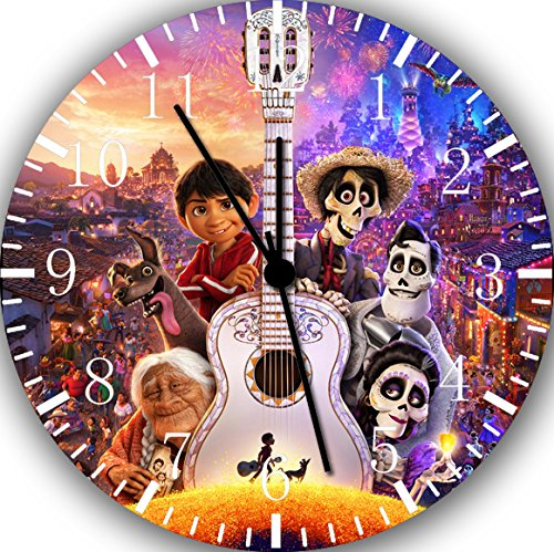 Disney Coco Movie Frameless Borderless Wall Clock F55 Nice For Gift or Room Wall Decor