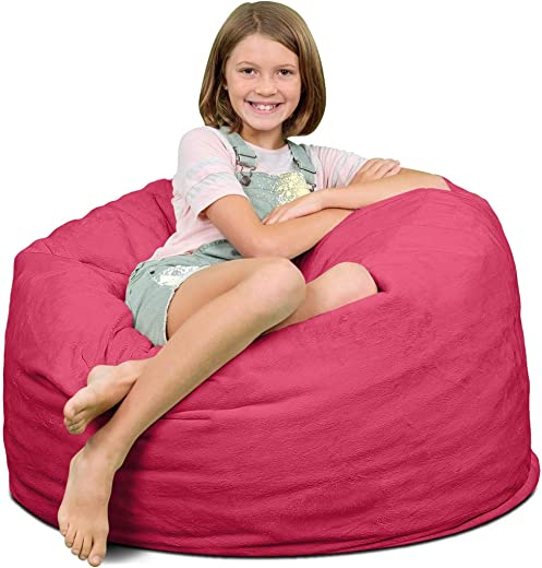ULTIMATE SACK 3000 3 Ft. Bean Bag Chair: Giant Foam-Filled Furniture