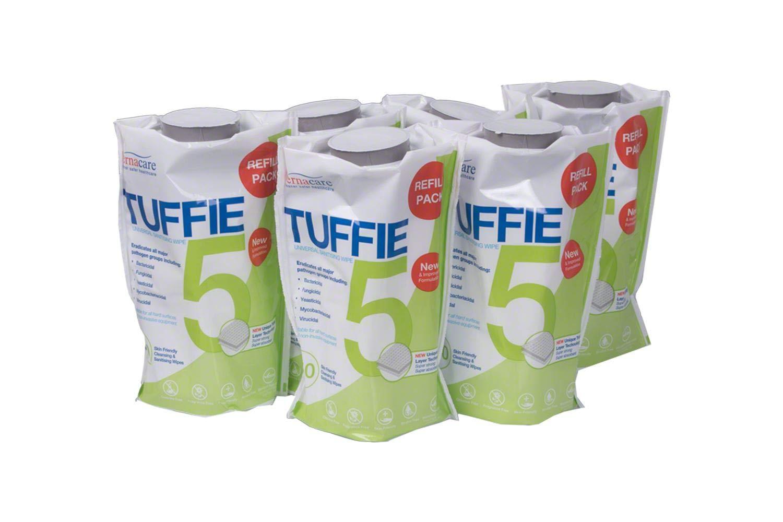 6 Unidades Tuffie Vernacare 5 Flexican Paquete de 150 toallitas h/úmedas