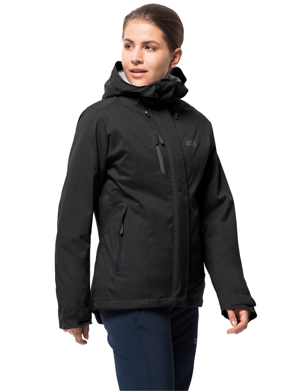 Jack Wolfskin Troposphere damen, sehr warme Winterjacke für Damen, wasser- & winddichte Outdoor Jacke für Damen, Windbreaker für Damen mit Belüftungsreißverschlüssen