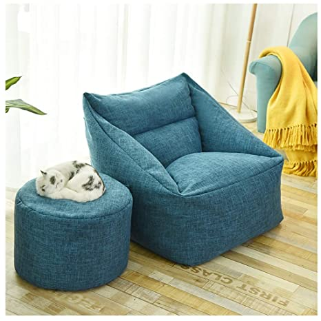 Marvelous Amazon Com Egclj Leisure Bean Bag Sofa Chairs Flodable Gmtry Best Dining Table And Chair Ideas Images Gmtryco