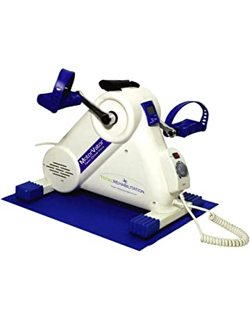 NEW MotorVator Twin Drive Plus, bi/directional Motorised Mini Exercise Bike - An Easy, Low Noise, Best Quality to Progressively Aid in Strengthening Arm/Leg Muscles & Ligaments, Improve Flexibility & Promote Blood Circulation, Impact Free Exercise