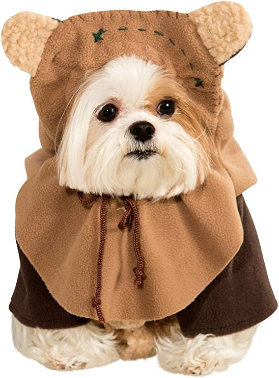 Amazon Com Rubie S Star Wars Ewok Dog Costume Size Small Pet