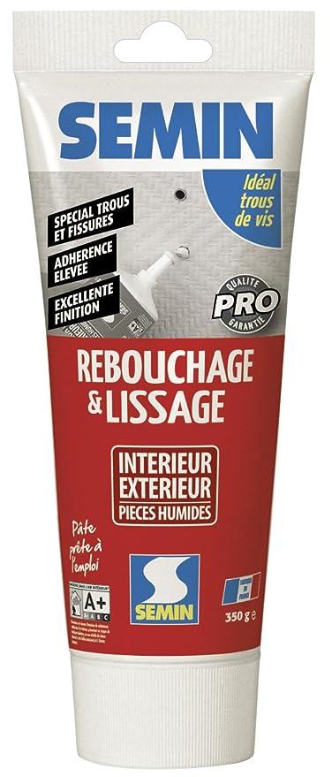 Semin Enduit De Rebouchage/lissage Intérieur/extérieur Tube 350 G