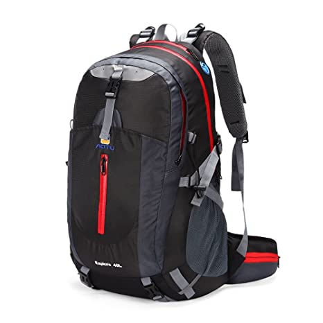aaa83ba795 Image Unavailable. Image not available for. Color  Docooler 40L Waterproof Outdoor  Sport Travel Backpack ...