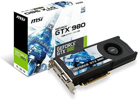 Amazon.com: MSI computadora GeForce 4 GB GDDR5, DVI/HDMI ...