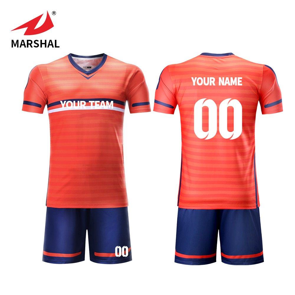new style 59753 1c5b2 ZHOUKA Design your own team football shirts uniform custom ...