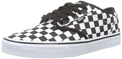 6acad1073a77f0 Vans Men s s Atwood Checkerboard Trainers  Amazon.co.uk  Shoes   Bags