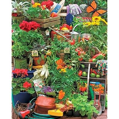 Garden Delights 1000 Piece Jigsaw Puzzle: Toys & Games
