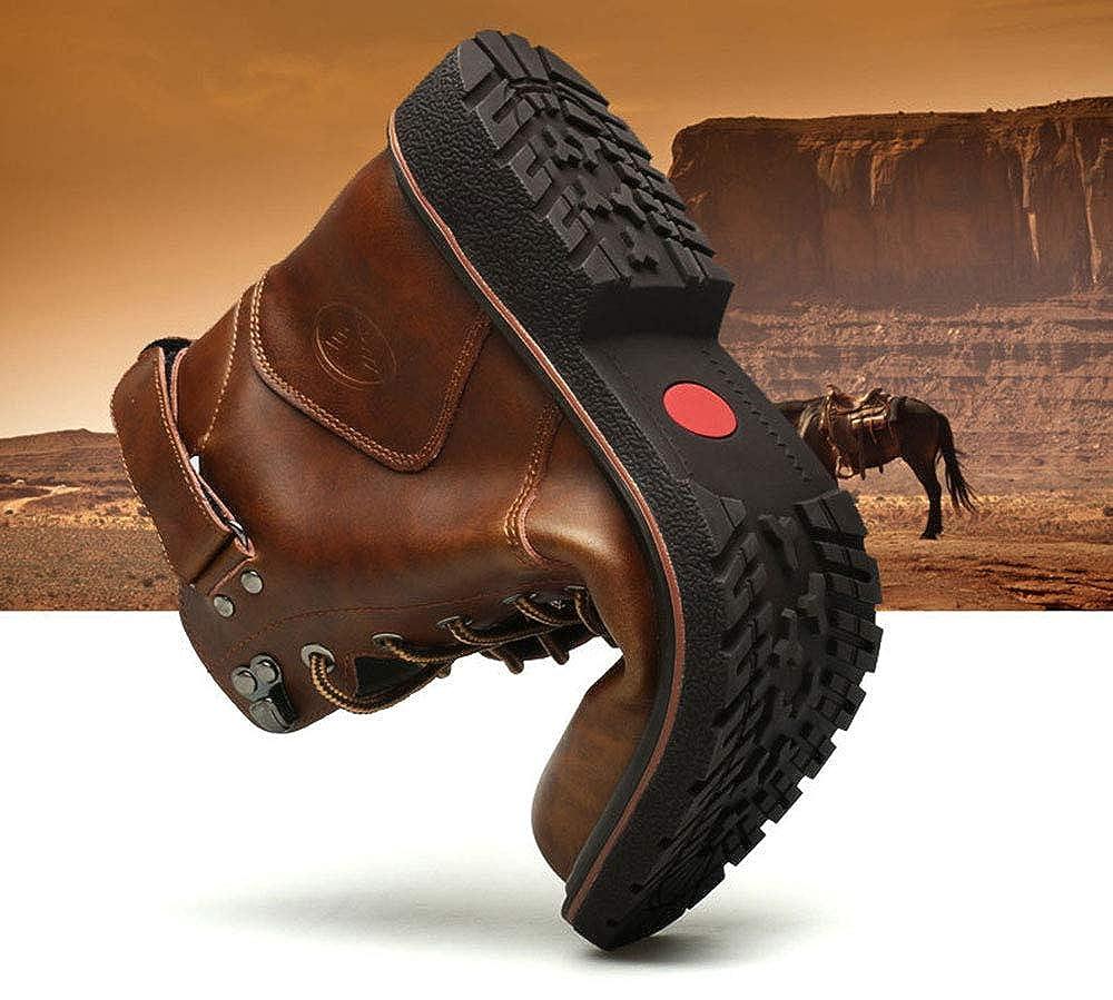 ZXLO Männer Hochhaus Outdoor-Stiefel Rutschfeste Trekking Schuhe Spitzen-Outdoor-Schuhe für den Sport, Sport, den aterproof Wander Stiefel, Wandern Klettern Trekking 83d9d6