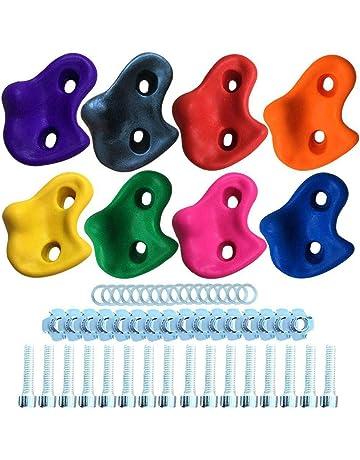 dans de Nombreux Coloris cale-Pieds Petites poign/ées ALPIDEX 15 M//L Jeu de poign/ées descalade en diff/érentes Formes