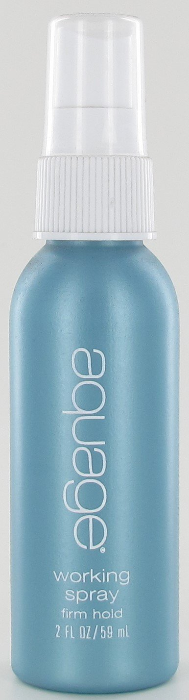 Aquage Working Spray, Travel Size, PACK OF TWO, 2oz