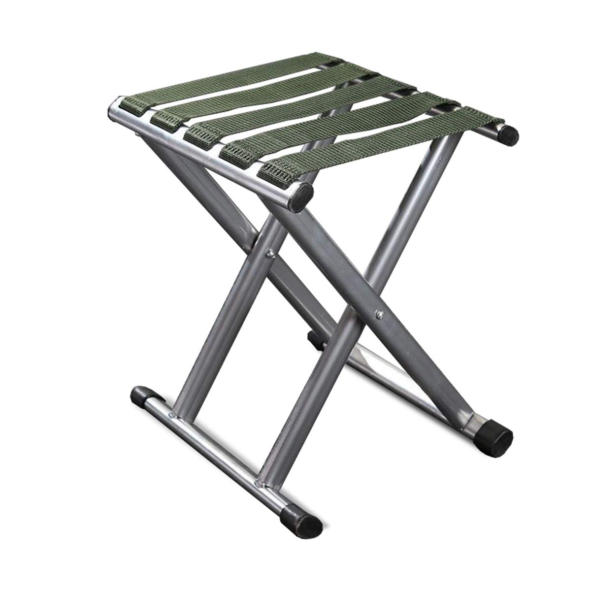 Folding Camping Stool Strong Heavy Duty Outdoor Folding Chair Suitable for Camping Fishing Mountain Hiking Traveling BBQ Picnic Party