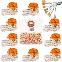 BITEFU K1 Scotchlok - Conector de cable con gel de sellado, 300 unidades, para cables de teléfono
