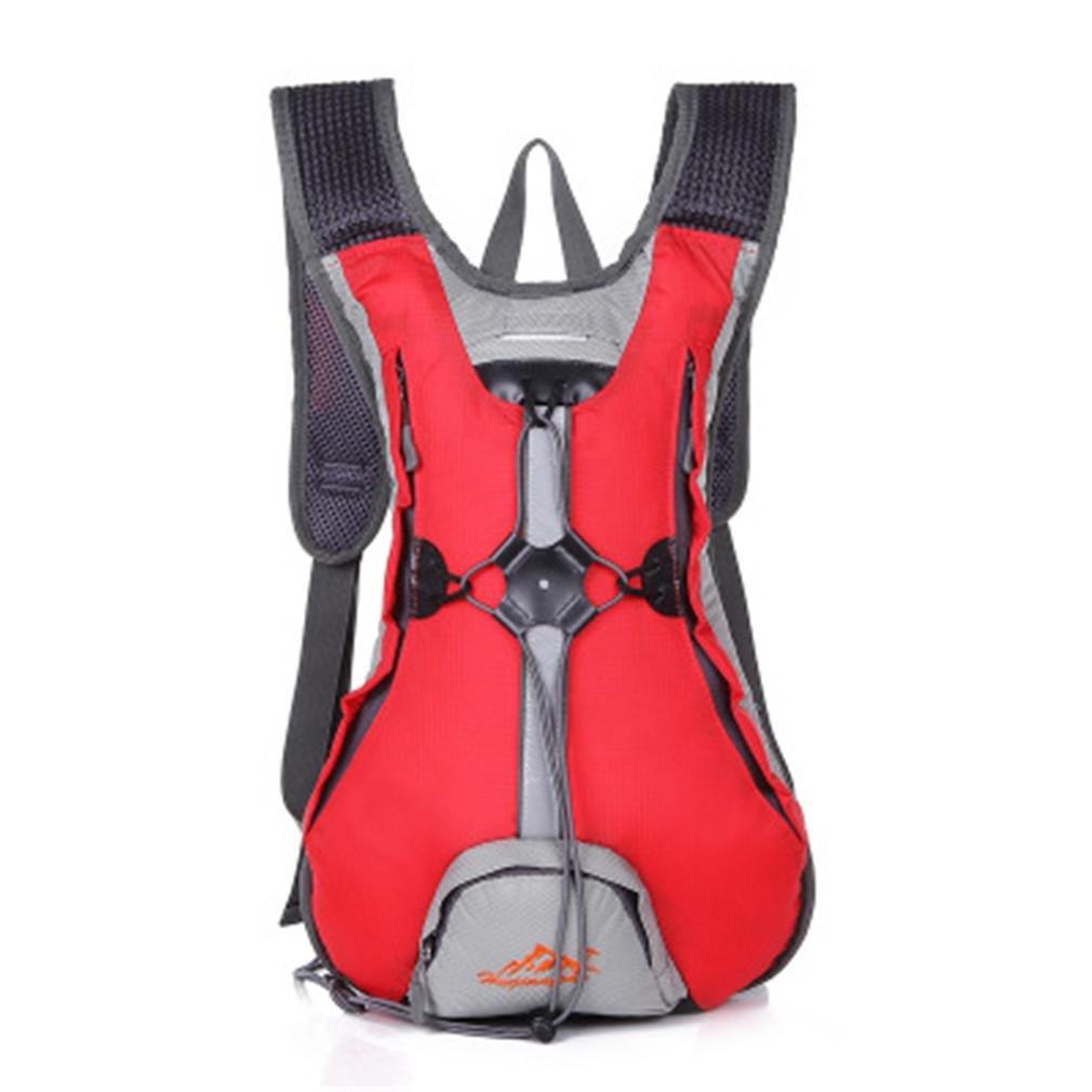 rouge  XINLEE Sac à Dos de vélo Sports de Plein air Randonnée Sac de Voyage Durable Imperméable Léger
