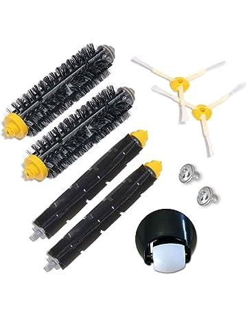 Kit de cepillo y montaje de rueda delantera para iRobot Roomba 500 600 700 Serie 529