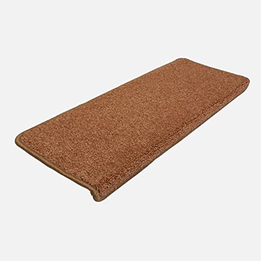 Zhihui alfombra ZZHF Color sólido/Engrosamiento Estera de Escalera/marrón Antideslizante Estera/práctico Almohadilla Antideslizante alfombras de habitacion (Color : A Pack of 5, Tamaño : B-65 * 24CM): Amazon.es: Hogar