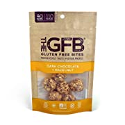 The GFB Protein Bites, Dark Chocolate Hazelnut, 4 Ounce, Gluten Free, Non GMO