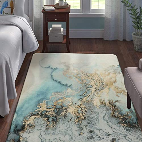 Lahome Marble Pattern Area Rug