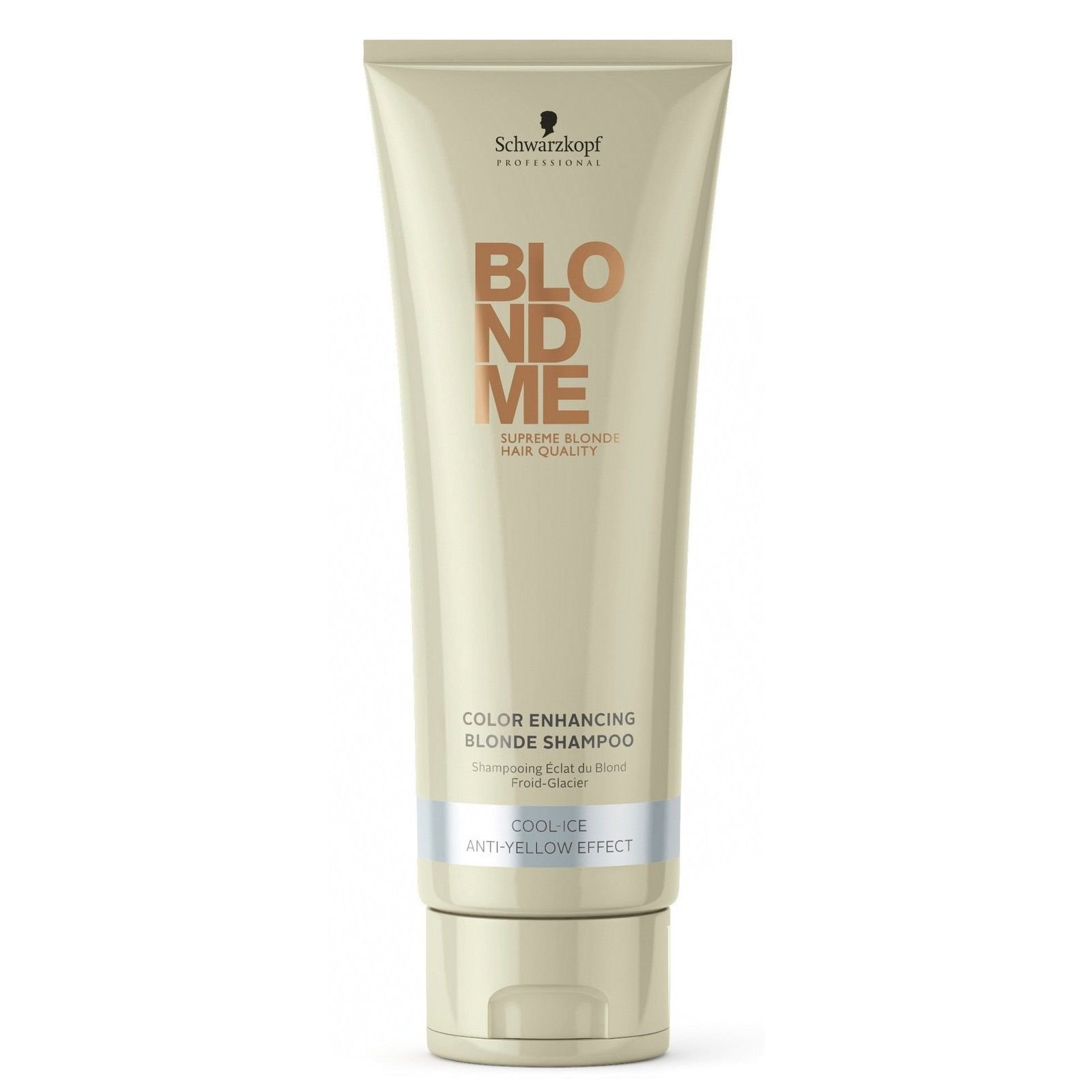 Schwarzkopf Blondme Color Enhancing Blonde Shampoo - Cool Ice 8.45 Anti-yellow