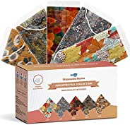 WeCare Disposable Face Mask Individually Wrapped - 50 Pack, Floral Fall Print Masks - Matching Kids and Adult