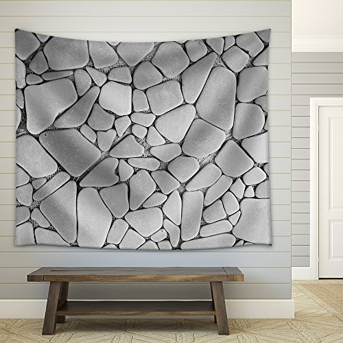 Background Texture of Stone Wall Fabric Wall Tapestry