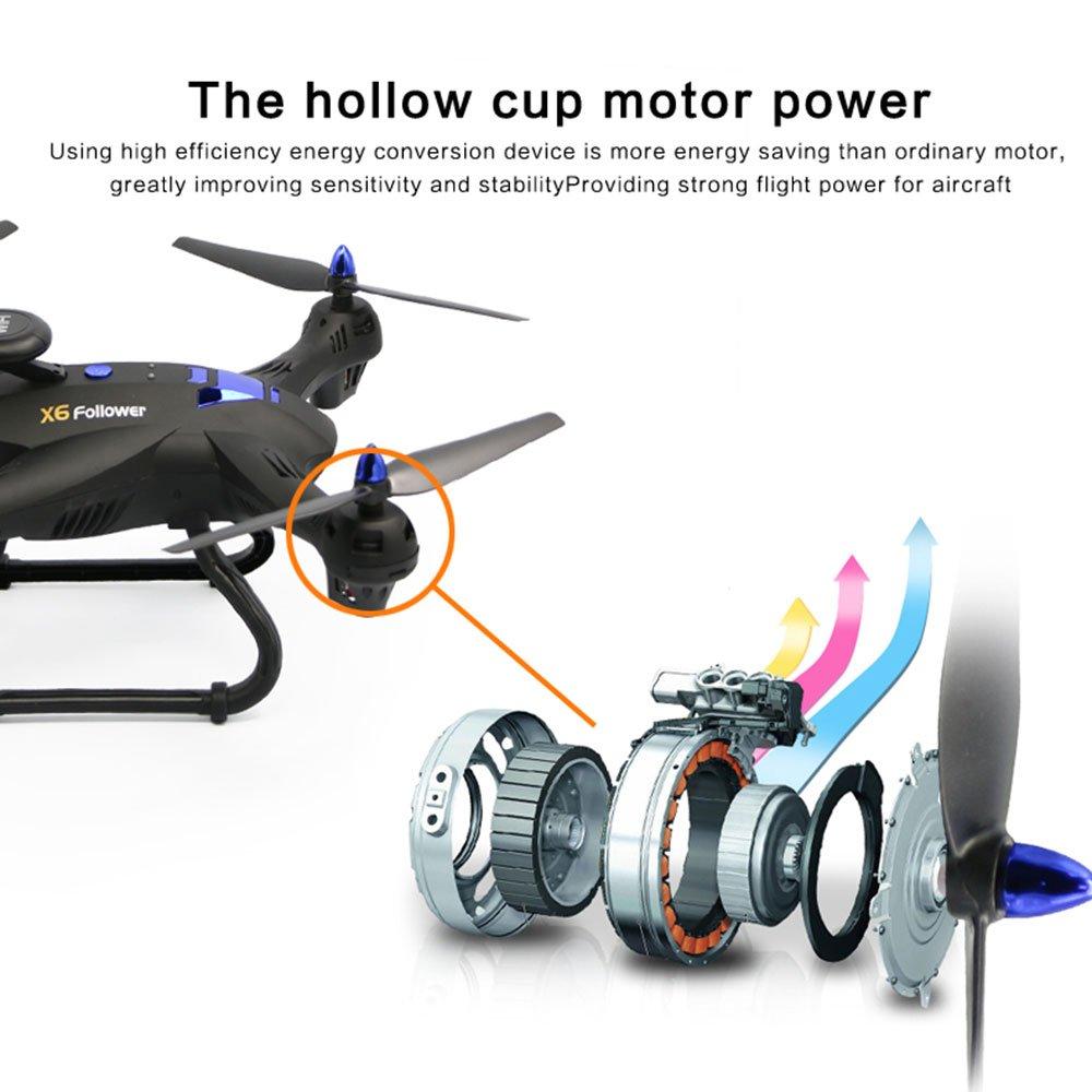 Cewaal Drone X183 con cámara 1080P Video en vivo y retorno de GPS ...