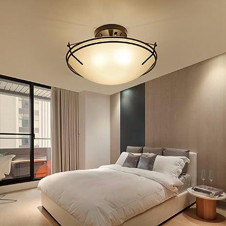 CNBBGJ Lámpara de techo de estilo americano, de estilo ...