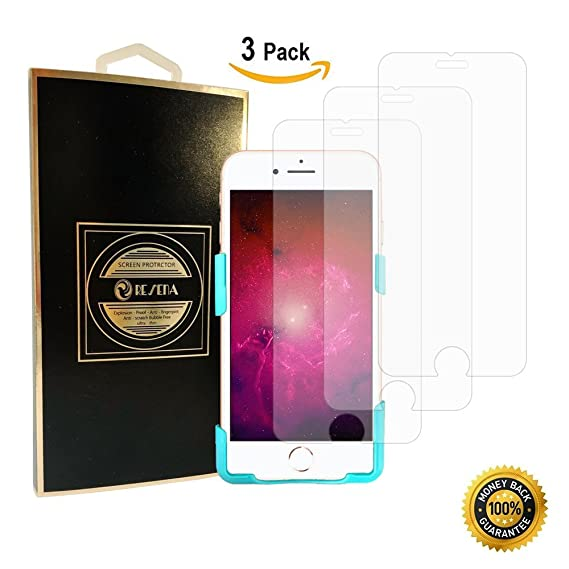 780539e615e Amazon.com: Resena [3 Pack] Tempered Glass Screen Protector for ...