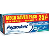 Pepsodent Expert Protection Complete Toothpaste Value Saver Pack - 2x140 g