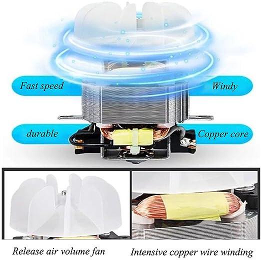 WUYY Secador De Pelo con Difusor Y Boquilla 2 Botón De Enfriamiento por  Calor Pequeño Compacto De Gran Potencia Mini Secador De Poder Bajo Y  Liviano 2f933e66b716