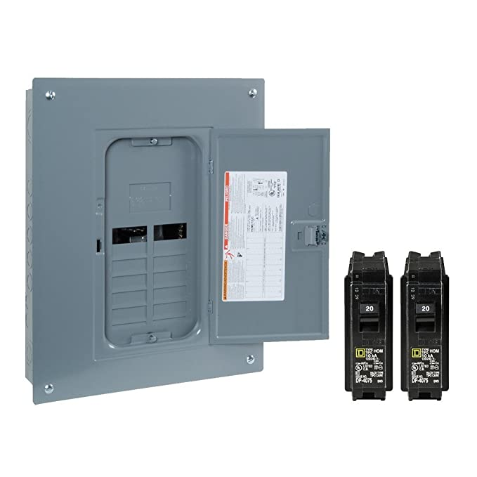 SQUARE D BY SCHNEIDER ELECTRIC Homeline 125-Amp Double-Pole Circuit Breaker