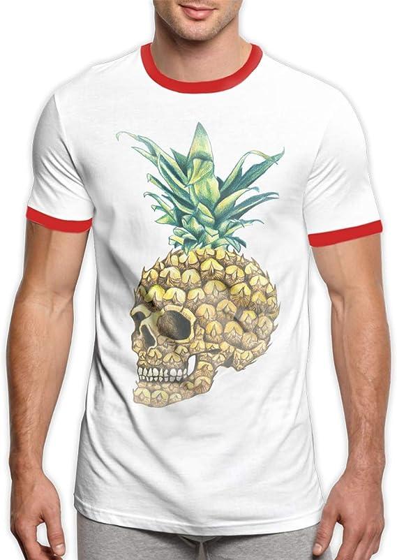 Patrick R Garrett Piña Calavera Camiseta Camisetas Moda ...